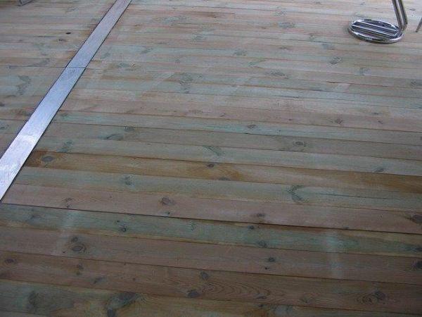 FeMax Fußboden imprägniert, mit Stahl und Aluminiumunterkonstruktion je m²