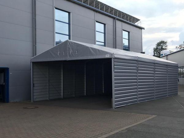 FeMax Lagerzelt mit Trapezblech 6x6m