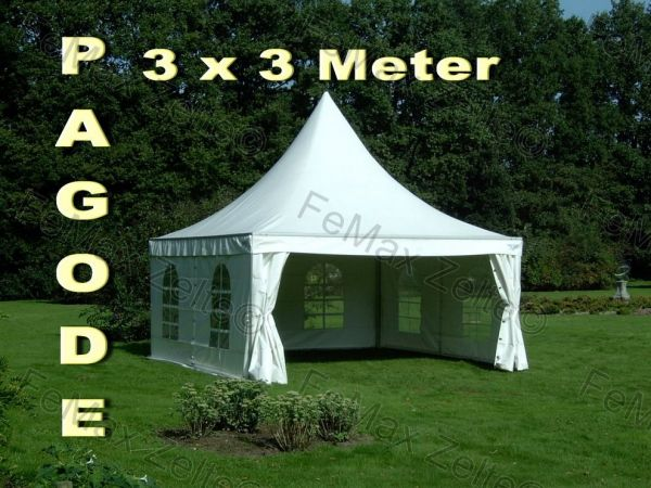 FeMax Pagode 3x3m
